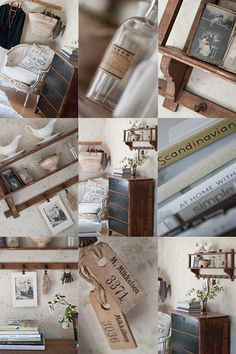 Scandinavian vintage chic... I want it all