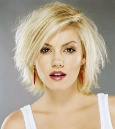 How To Cut Short Spiky Haircuts For Women : New Short Spikey . Long Pixie, Short Hairstyles For Women, Messy Hairstyles, Elisha Cuthbert Wallpaper, Celebrity Wallpapers, Light Blonde, Womens Wigs, Gorgeous Eyes, Short Haircut