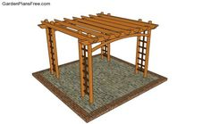 Outdoor Pavilion Plans | Free Garden Plans - How to build garden projects