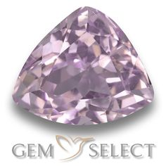 GemSelect features this natural untreated Kunzite from Afghanistan. This Pink Kunzite weighs 9.3ct and measures 14 x 11.8mm in size. More Trillion Facet Kunzite is available on gemselect.com #birthstones #healing #jewelrystone #loosegemstones #buygems #gemstonelover #naturalgemstone #coloredgemstones #gemstones #gem #gems #gemselect #sale #shopping #gemshopping #naturalkunzite #kunzite #pinkkunzite #trilliongem #trilliongems #pinkgem #pink Pink Gemstones, Loose Gemstones, Natural Gemstones, Buy Gems, Pink Tone, Gem S, Gemstone Colors, Afghanistan, Stone Jewelry