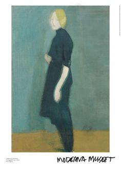 Helene Schjerfbeck Flickgestalt Girl Figure Oil on Canvas 1916 Helene Schjerfbeck, Art Et Illustration, Illustrations, Street Art, Z Arts, Inspirational Artwork, Famous Art, Portraits, Artist Painting