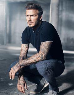 fashion4men. David Beckham