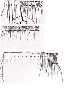 El costurero de Stella: Tecnicas de fruncido I