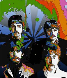beatles tripping