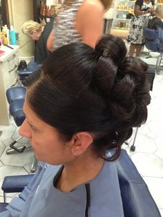 Natalie's summer ball hair Ball Hairstyles, Loreal, Pearl Earrings, Stylists, Hair Styles, Creative, Summer, Fashion, Hair Plait Styles