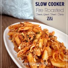The house smelled amazing and when it was time to eat, this Slow Cooker Ziti hit the spot and was gone within minutes. Another great 21 Day Fix Recipe!