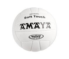 "Balón voleibol cuero sint. cosido ""Soft Touch"" 21 cm"