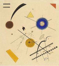 Wassily Kandinsky – Three Free Circles, 1923