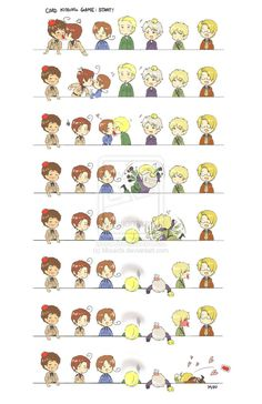 Hetalia Card Game No cards were harmed in the making of this pin. But I think Prussia, Germany and England might have been