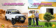 Si tuvieras que elegir, cuál preferís? 🤔💭 La camioneta o la casa? Los Gs. 240.000.000 vienen si o si 😉 #senete #13AñosCambiandoTuSuerte #cheporemoi 🍀