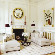BELLE VIVIR: Interior Design Blog | Lifestyle | Home Decor: Convex Mirror: Federalist Convex Mirror