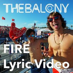 """The ""Fire"" lyric video is live on @thebalconymusic YouTube channel ! Go check it out and make sure to subscribe.  Comment and let me know your favorite…"""