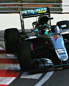 #6 Nico Rosberg...Mercedes AMG Petronas F1 Team...Mercedes F1 W07...Motor Mercedes PU106C V6 t h 1.6...GP Monaco 2016