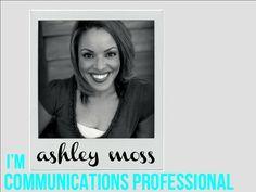 Communications Professional  PowerPoint resume #visualresume