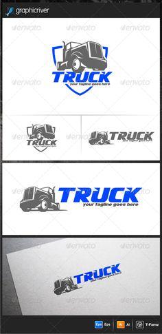 Truck Logo Templates  #GraphicRiver