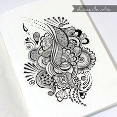 #design #henna #mehndi #abstract