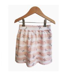 Falda, algodón organico, moda eco on line niña