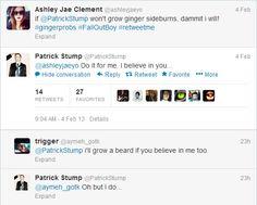 patrick stump tweets - Google Search
