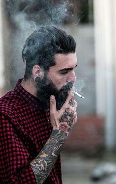 The Ubiquitous Beard — beardsplustattoos: Holdin' on Model:Edwar...