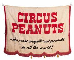 vintage circus banner