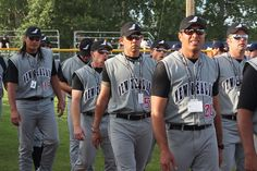 2009 – Saskatoon, Canada ISF Men's World Championship- Softball Black Sox