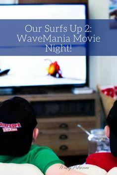 Our Surfs Up 2: WaveMania Movie Nights!  #SurfsUp2 #SurfsUp #SurfsUpMovie #ad