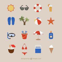 Beach-icons-for-summertime - Freepik-Tropical-Pin-21