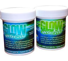 Long Lasting Phosphorescent, Glow-in-the-Dark Powders