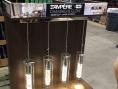 Costco: Ampère Champagne Glow Indoor Light. Would look amazing above a dining room table.