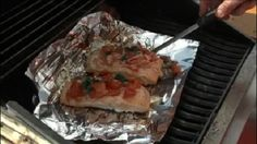 Perfect Grilled Bruschetta Salmon Friday, July 10, 2015
