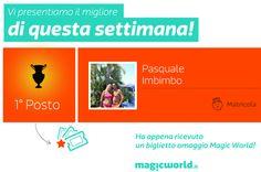 MyMagic Giugno 2014 - Il primo vincitore di quest'anno!  http://www.magicworld.it/?p=38856