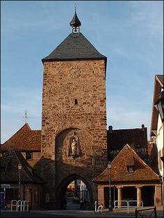 La porte des forgerons à Molsheim