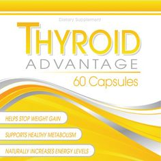 Thyroid Advantage - Thyroid Supplement Formulated With Iodine (from kelp), Selenium, L-Tyrosine, Bladderwrack, and More To Help Increase Energy, Boost Metabolism, and Aid Weight Loss Thyroid Advantage,http://www.amazon.com/dp/B00B0G42O8/ref=cm_sw_r_pi_dp_1N1Gtb1MFJ2R2DSX
