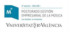 Postgrado en Gestión Empresarial de la Música 4ª ed. (Online) por la Universitat de València