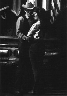 James Dean and Elizabeth Taylor, Giant