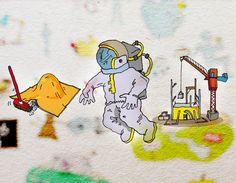 Illustrazione - corso di PROBLEM SOLVING - digital rendering 2012