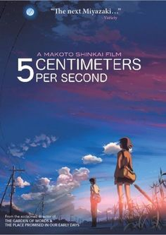 Discotek Media Reissues Makoto Shinkai's '5 Centimeters Per Second'