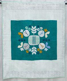 Botanics in Green by Carolyn Friedlander, 2013 | The Modern Quilt Guild