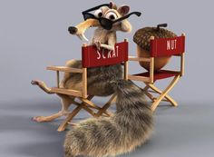 """He is one of the funniest things in the films every single time. I am happy to give him the spotlight,"" says 'Ice Age' star Denis Leary of his long-suffering castmate, the silent rodent Scrat."