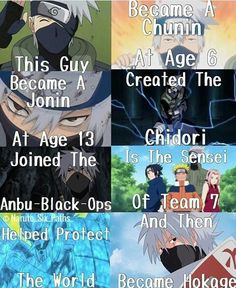 Kakashi did all this with losing so much, father, sensei, killing his teammate, and so much more.