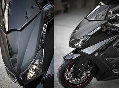 BCD Megastore - Tous les accessoires Bcd en direct de l'usine ! - FACE-AVANT-TMAX-530-DAYLIGHT---PEINTURE-AUX-COULEURS-D-ORIGINE-YAMAHA-- YAMAHA TMAX 530
