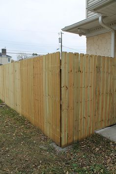 How to Install a Privacy wood fence