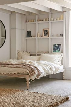 DIY Urban Outfitters Bohemian Platform Bed-- Not Nice Spice