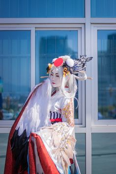 陰陽師手游 姑获鸟 金銮鹤羽 - sakunabihanabi(sakunabi and hanabi) 姑获鸟 Cosplay Photo - Cure WorldCosplay
