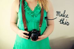 OLD Leather belt = NEW Camera Strap - DIY Tutorial - http://bywilma.com/2012/05/16/diy-braided-belt-camera-strap/