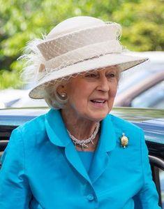 July 2, 2019 | Royal Hats Princess Alexandra, Princess Anne, Princess Sofia, Summer Family Photos, Lace Painting, Rain Hat, Uk Brands, Young Prince, Duchess Of Cornwall