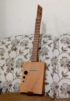 New project Cigar Box Guitar  #cigarboxguitar
