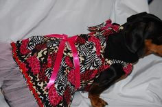 Wild Hearts Dress for Valentines Day by DownUnderDogDesigns, $50.00