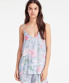 Floral print strappy top - New In.