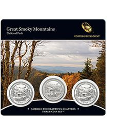 2014 America the Beautiful Quarters Three-Coin Set™ – Great Smoky Mountains National Park